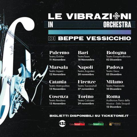 Le Vibrazioni in orchestra di e con Beppe Vessicchio