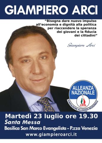 Manifesto 2019 - Giampiero Arci