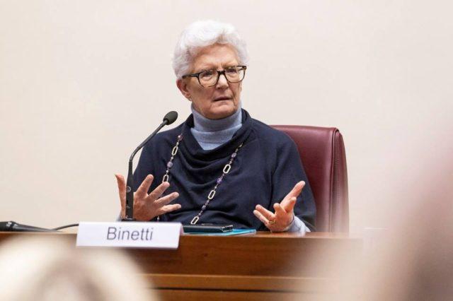 Senatrice Paola Binetti