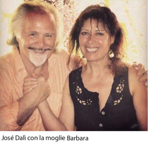 José Dalì e la moglie