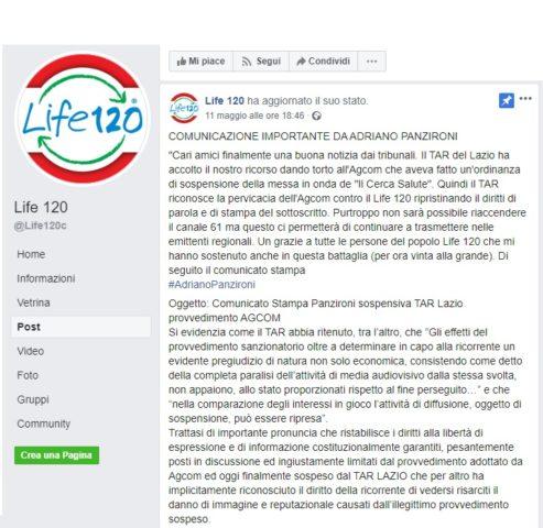 Post Tar Life120