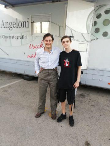 Lino Guanciale e Domenico Cuomo